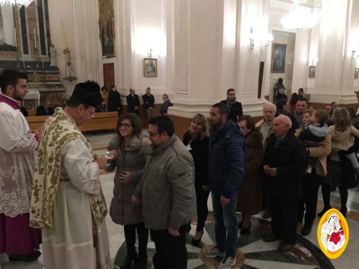 S. Messa e benedizione delle famiglie
