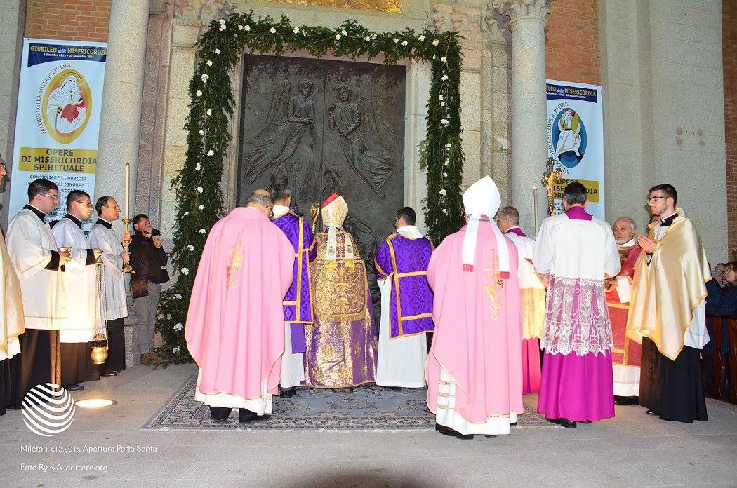 Cattedrale di S. Maria Assunta - Apertura Porta della Misericordia
