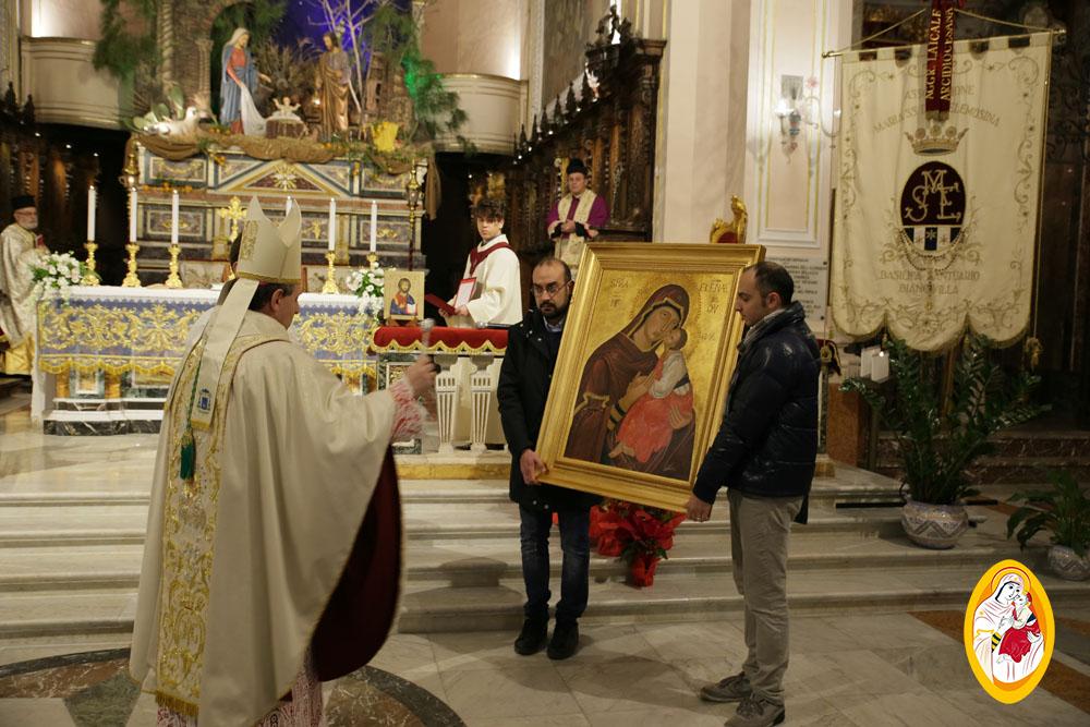 Divina Liturgia di S. Giovanni Crisostomo in rito bizantino-greco e benedizione della nuova riproduzione dell'Icona della Madonna dell'Elemosina