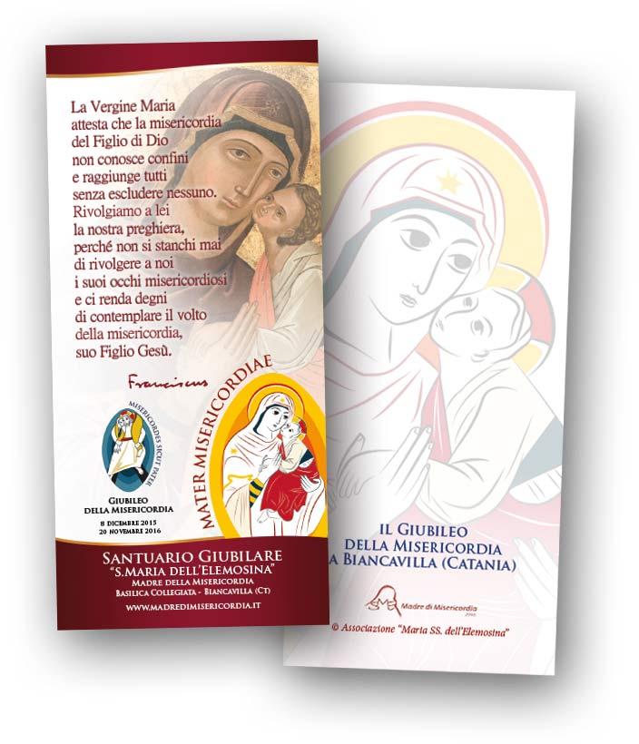 Immaginetta preghiera Papa Francesco