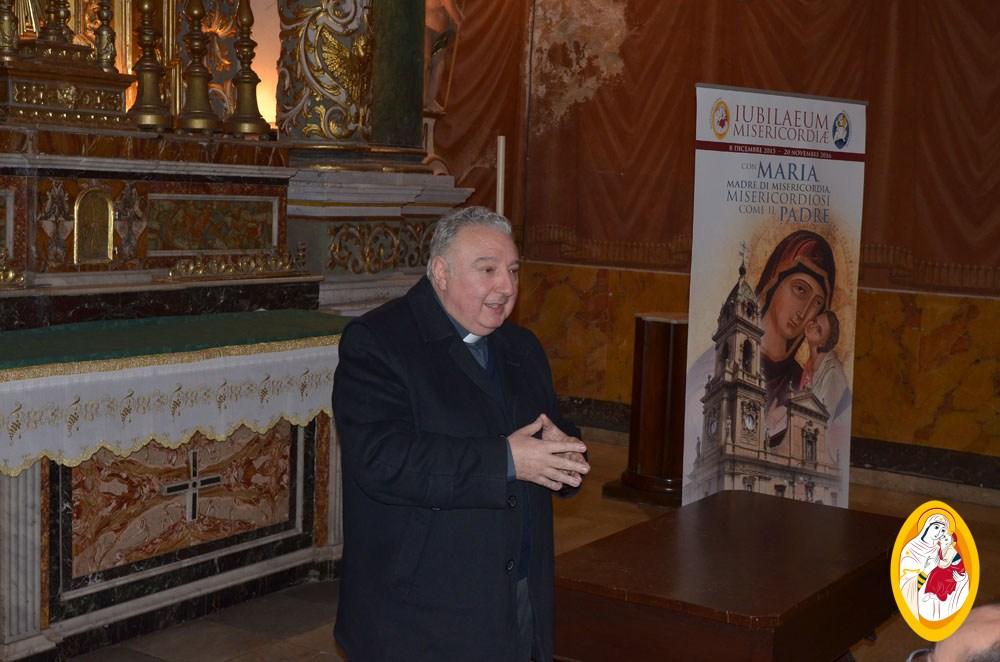 S. Messa celebrata da Mons. Giovanni Lanzafame e Conferenza spirituale
