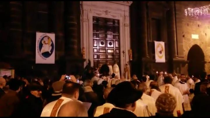 Cattedrale di Pescia - Apertura della Porta della Misericordia