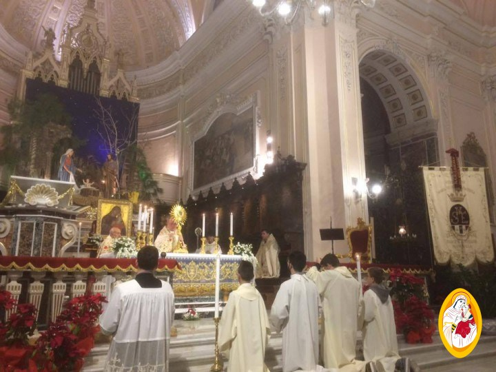 Primi Vespri e Te Deum Presieduti da S. E. Mons. Giuseppe Sciacca