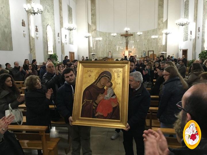 Peregrinatio dell'Icona della Madonna dell'Elemosina – Parrocchia Cristo Re