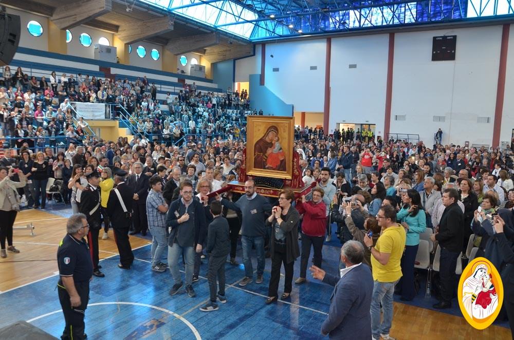 7° Congresso regionale della Misericordia con l'Icona della Madonna dell'Elemosina