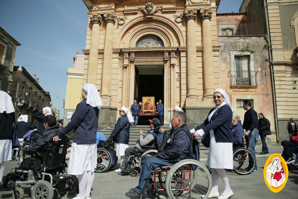 Pellegrinaggio diocesano dell'Unitalsi, sottosezioni di Paternò e Catania