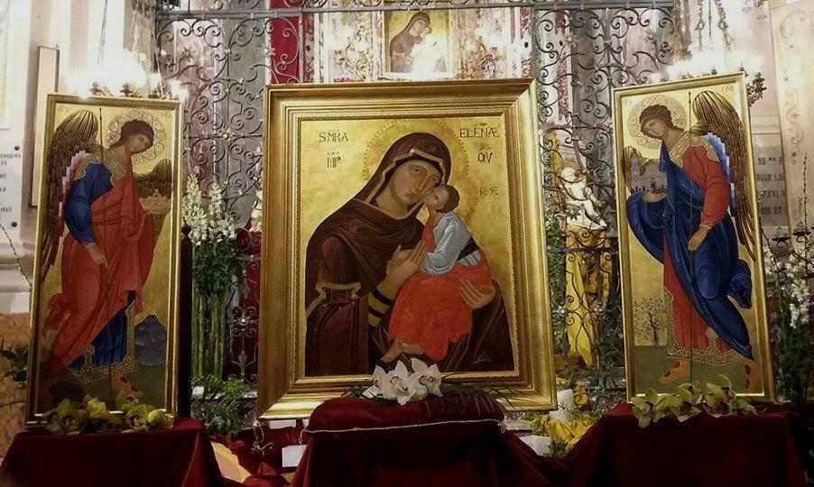 Presentazione delle due nuove icone per la Cappella della Madonna dell'Elemosina