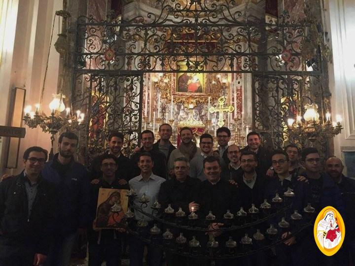 Pellegrinaggio dei Seminaristi del Seminario Arcivescovile di Catania