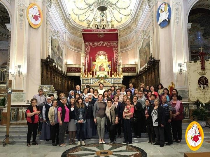 Pellegrinaggio della Comunità parrocchiale S. Maria in S. Piero Patti (Me)