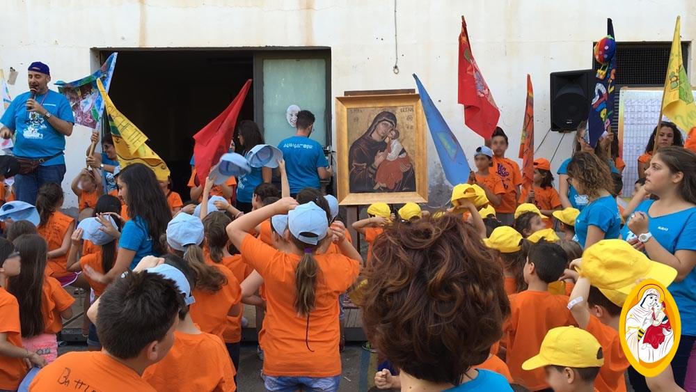 La Madonna dell'Elemosina al Grest della Parrocchia SS. Salvatore