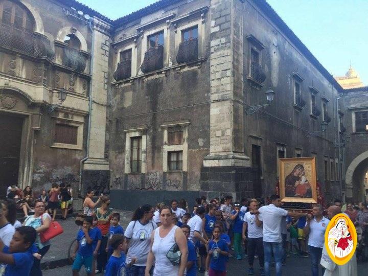 La Madonna dell'Elemosina a Catania