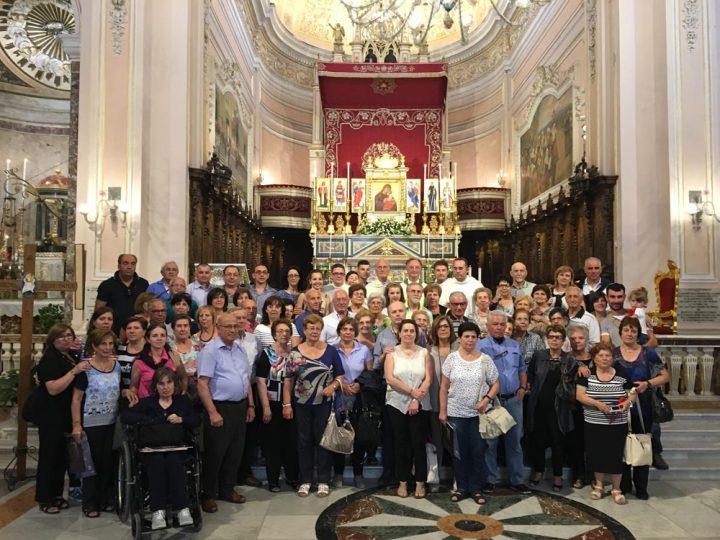 Pellegrinaggio della Comunità parrocchiale della Chiesa Madre di San Cataldo (CL)