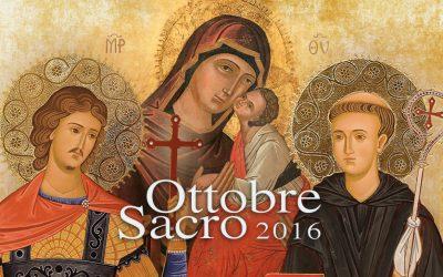 Ottobre Sacro 2016