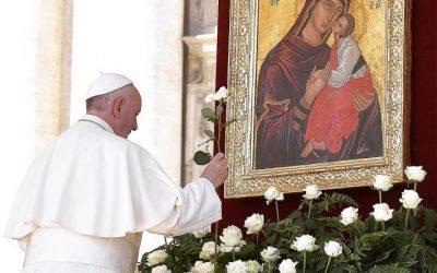 L'Icona della Vergine dell'Elemosina torna in Vaticano per il Giubileo mariano
