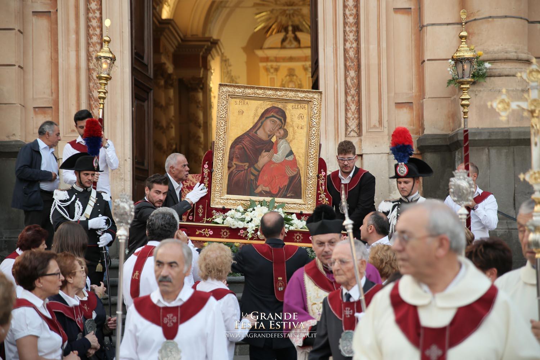 Accoglienza dell'Icona di Maria SS. dell'Elemosina di ritorno da Roma