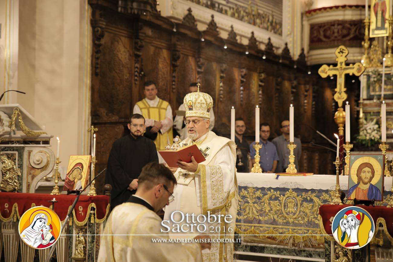 Divina Liturgia di S. Giovanni Crisostomo in rito bizantino-greco presieduta da S. E. Mons. Giorgio Demetrio Gallaro