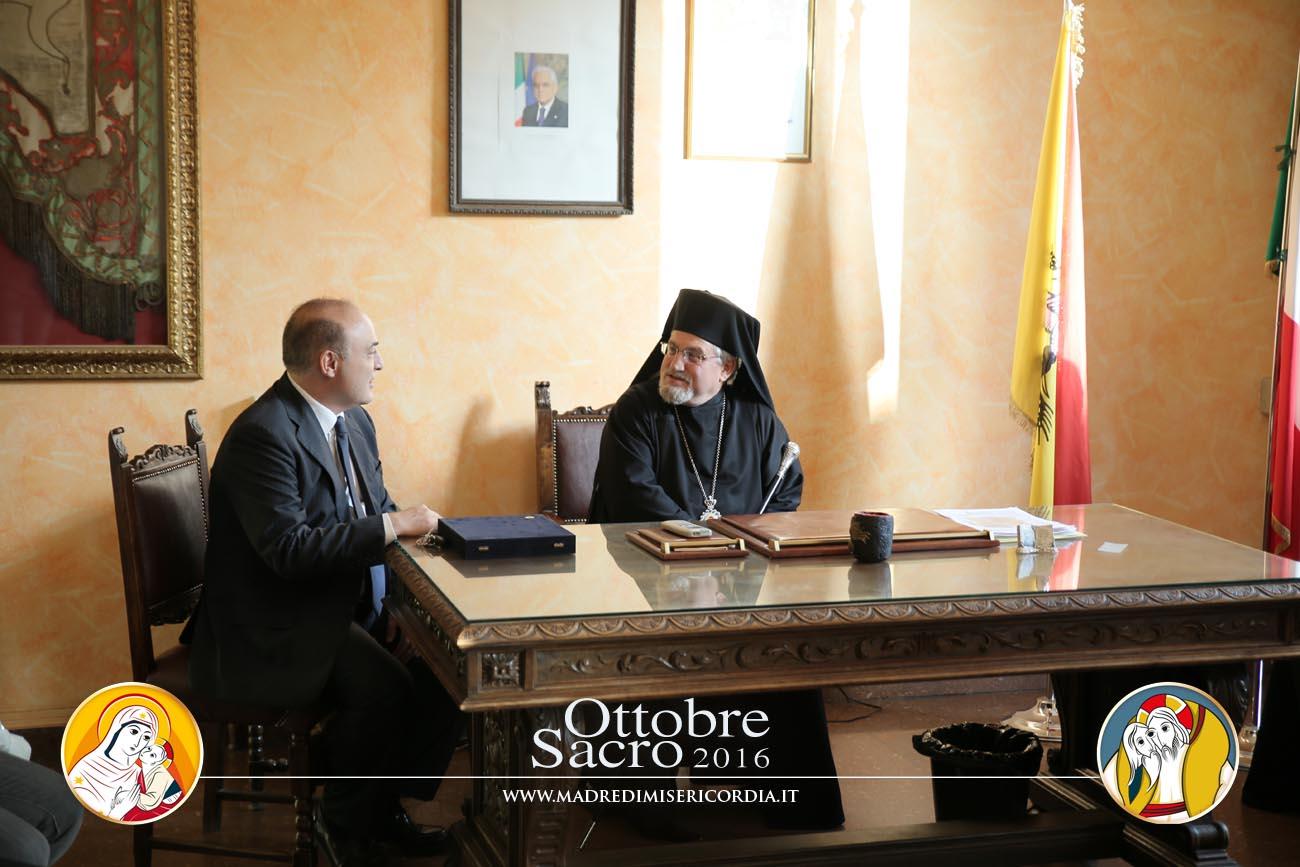 Incontro con la delegazione di Piana degli Albanesi in ricordo dello storico incontro degli Albanesi di Sicilia del 1961