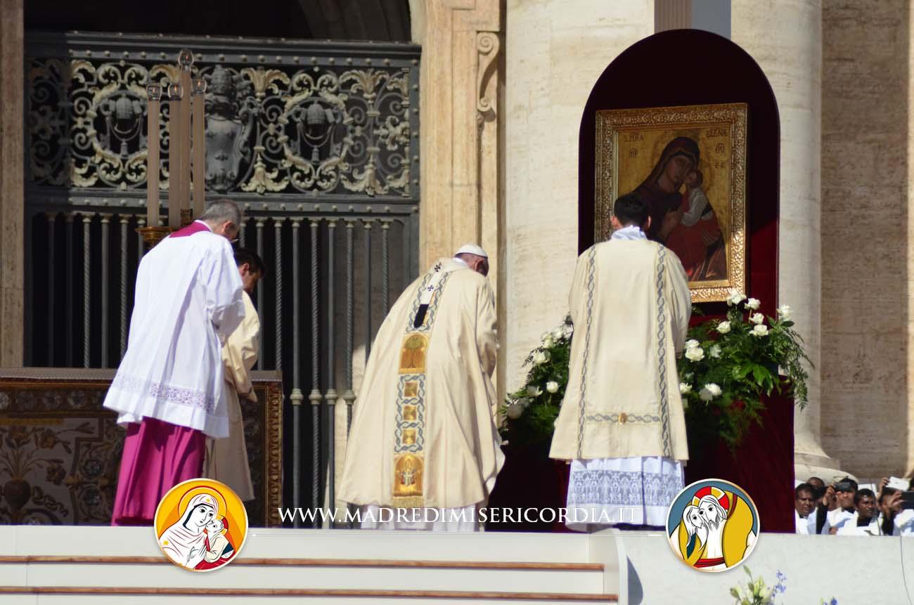 La Madonna dell'Elemosina a Roma per la canonizzazione di Madre Teresa