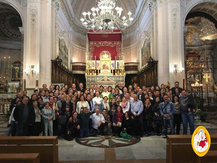Pellegrinaggio delle Comunità ecclesiali di S. Francesco e S. Agostino in Gela (CL)