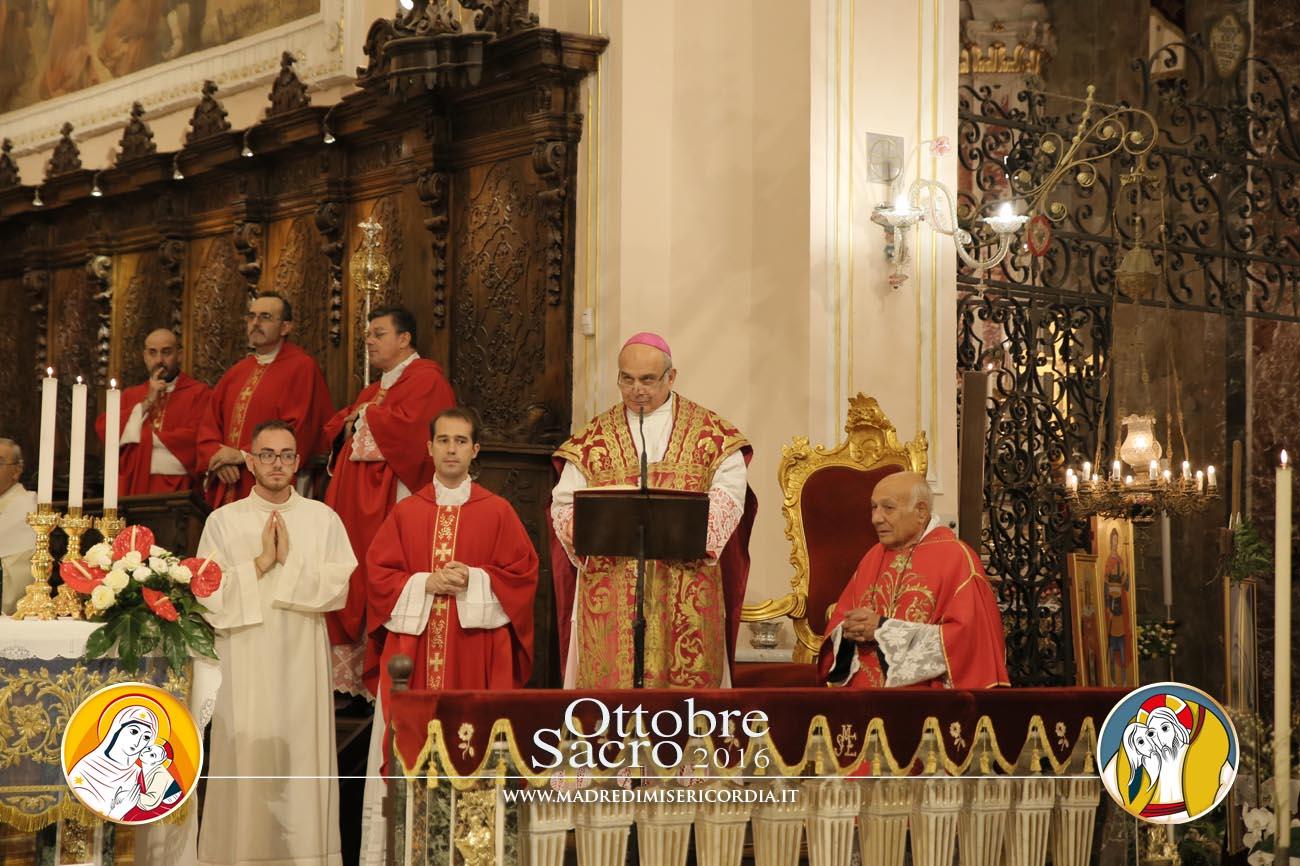Pontificale presieduto da S. E. Mons. Salvatore Gristina