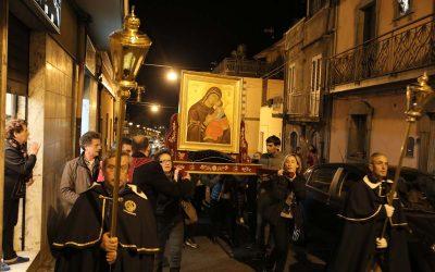 La Madre dell'Elemosina pellegrina a Maletto