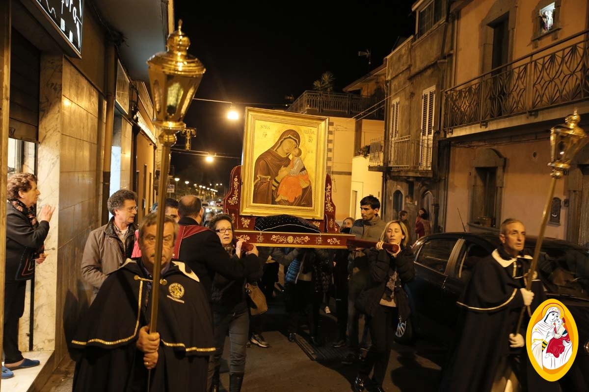 Peregrinatio dell'Icona della Madonna dell'Elemosina a Maletto