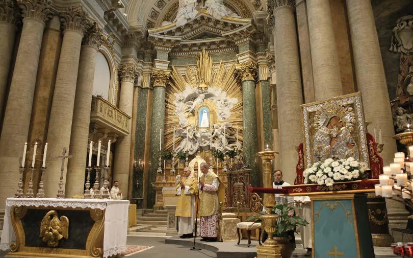 La Madonna dell'Elemosina a Roma per il Giubileo Mariano